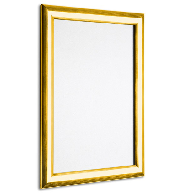 Display Products Gold Amp Silver Polished Snap Frames