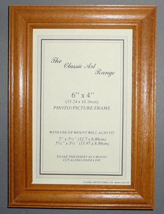 c range antique pine wood picture frame