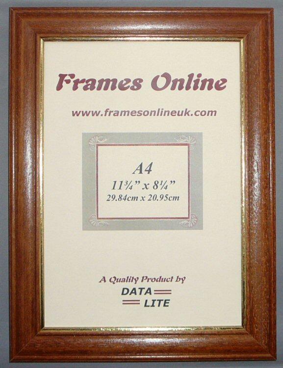 FRAMES ONLINE E Range - White Teak Black & Pine Photo Picture Frame