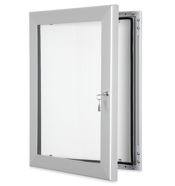 display products silver lockable amp secure key lock frame