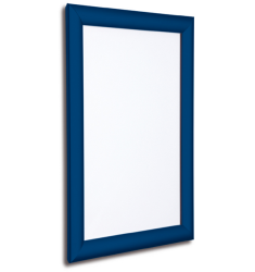 25mm Dark Blue Snap Shop Advert Frame