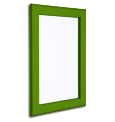 32mm Green Coloured Snap Retail Poster Advert Frame