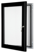 Jet Black Key Lock Frame
