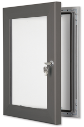 Slate Grey Secure Lockable Frame