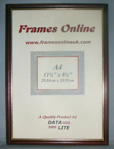 B Range - Rosewood Reverse Style Picture Frame