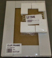 Clip Frame Packaging.