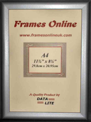 D Range - Silver Picture Frame