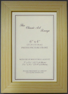 E Range - Flat Pine Wood Picture Frame