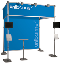 Uni Banner Cube Stand