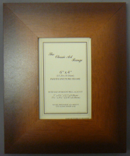 G Range - Flat Stone Brown Picture Frame