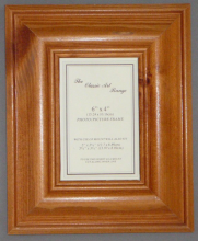 H Range - Antique Pine Wood Picture Frame