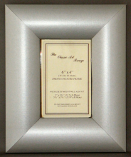 H Range - Dome Silver Picture Frame