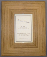 H Range - Flat Oak Style Picture Frame