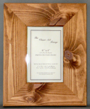 H Range - Flat Natural Pine Picture Frame