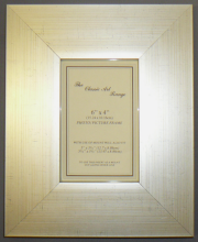 H Range - Flat Silver Picture Frame