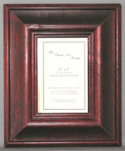 H Range - Mahogany Wood Picture Frame