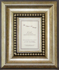 I Range - Silver Bead Picture Frame