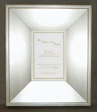 I Range - Silver Wedge Style Picture Frame