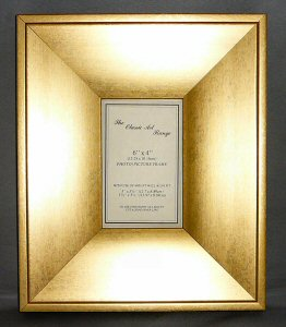 K Range Gold Wedge Style Picture Frame