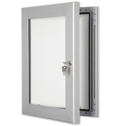 55mm Silver Secure Lockable Frame